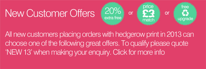 New Customer Offers